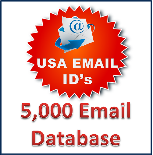 IITCA-Shopping Now USA Bulk Email Id's [5,000 Email Database]
